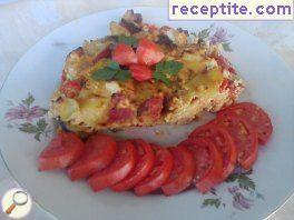 Summer dish in halogen oven