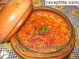Beans pot recipe grandmother