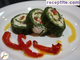 Spinach roll * Zoe *