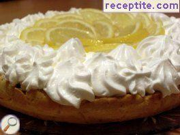 Fresh Lemon pie * *