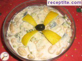 Salad with fish Summer * memory *