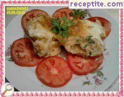 Stuffed potatoes halogen oven