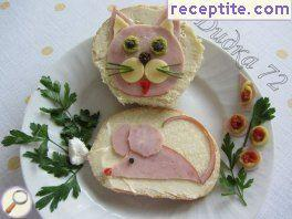 Sandwich * Cat and Mouse *