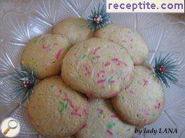 Christmas cookies Confetti