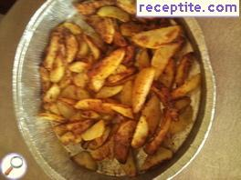 Potatoes in halogen oven