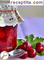 Jam with cherries, Lets Fix and sweetener