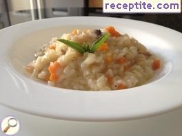 Risotto with dried porcini