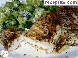 Juicy chicken breast