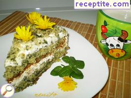 Layered cake * Green meadow *