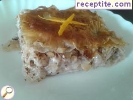 Juicy and aromatic baklava