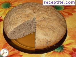 Bread with walnuts and rosemary