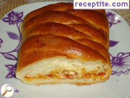Stuffed bread (Sicilian pizza)