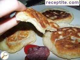 Traditional Korean pancakes (Hoddeok)