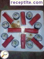 Stuffed crab sticks