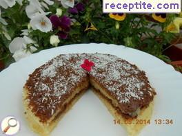 Cake with semolina microwave