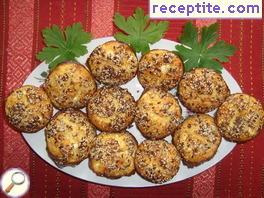 Banitsa muffins with cream