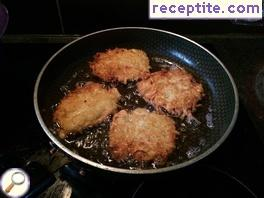 Potato patties in Russian (Draniki)