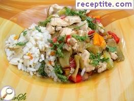 Thai Chicken with vegetables