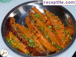 Sweet potatoes grilled