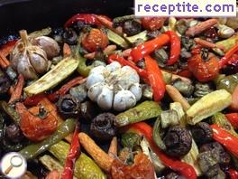 Vegetables Baked