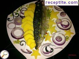 Marinated Mackerel BBQ