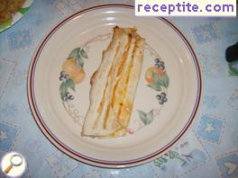 Roll of Mexican pita with grilled chicken - Flauta