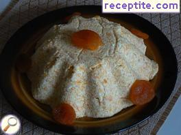Passover with pumpkin, carrots and dried apricots