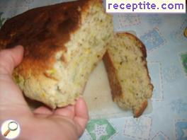 Soda bread with sour cream