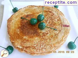 Pancakes from oat bran