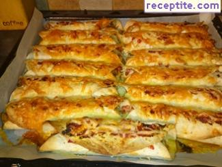 Enchiladas with chicken