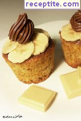 Muffins with banana and chocolate - II type