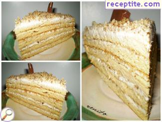 French rural layered cake