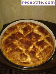 Banitsa with soda