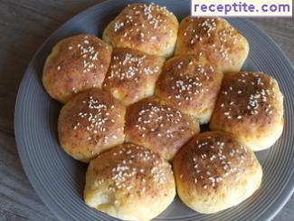 Soda bread with cheese
