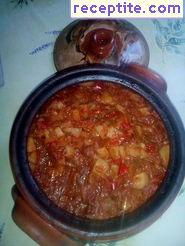 Classic stew with pork