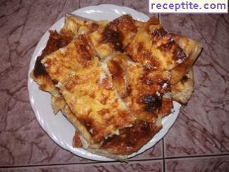Fluffy juicy banitsa